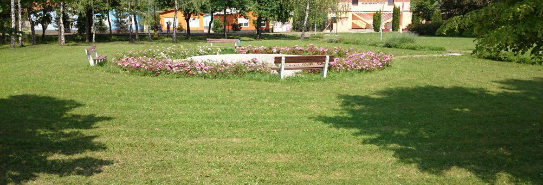 Výhľad na okolitý park